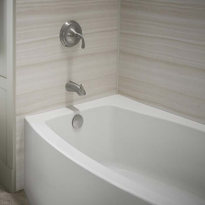 Wall Surrounds For the Bathtub