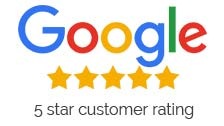 Google 5 start Rating